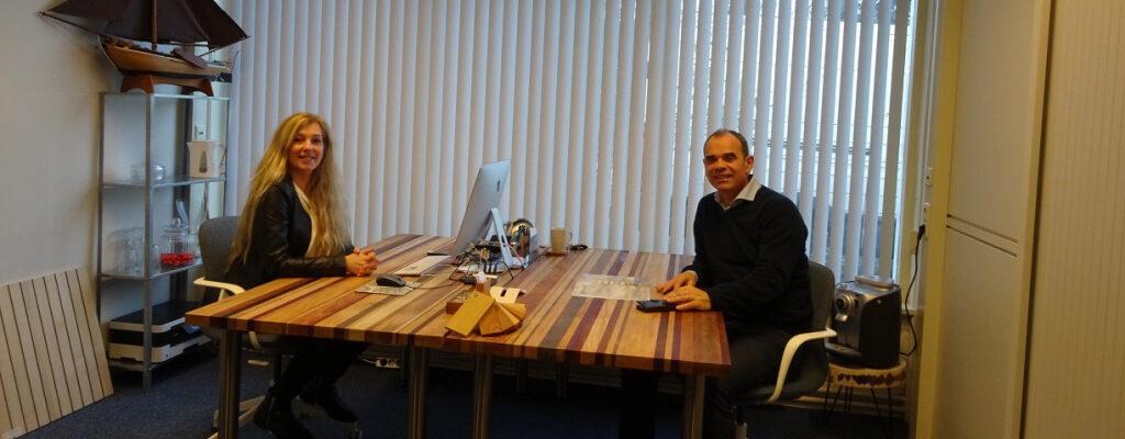 Enno en Saskia kantoor