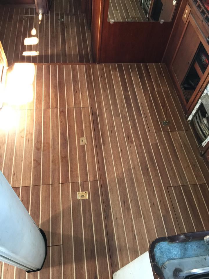 Hedendaags bootvloeren FE-72